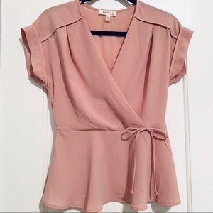 Monteau pale pink blouse